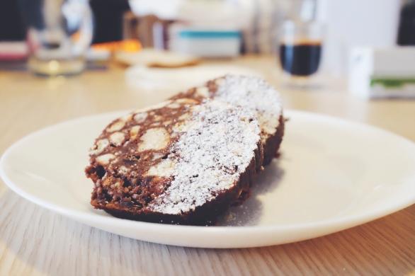 sweet salami chocolate treat